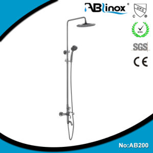 No Lead Faucet Steel Bath Shower Mixer (AB200) pictures & photos