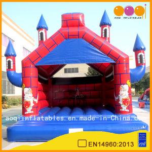 Inflatable Red Castle Bouncer for Amusement Park (AQ519-1) pictures & photos