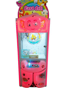 LED Lighted Cartoon Mini Toy Crane Machine (MS1500) pictures & photos