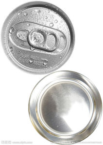 200 Tuna Fish Can Lid 50mm Tomato Paste Lid Tinplate Easy Open End pictures & photos
