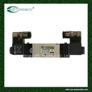 4V330-10 Series Double Coil Directional Solenoid Valves Pneumatic Control Air Valve pictures & photos