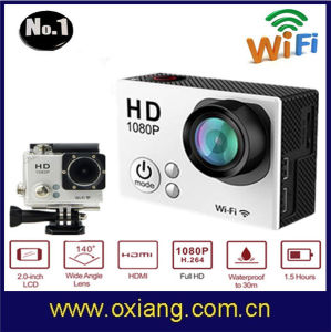 Latest Full HD 1080P WiFi 2.0 Inch Screen Waterproof Sports Camera Action Video Camera Ox-G2 Support 2MP/5MP/8MP/12MP pictures & photos