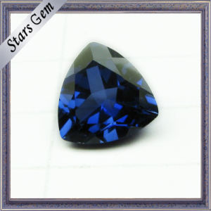 Triangle Brilliant Cut 5X5mm Hot Sale Blue Corundum Sapphire pictures & photos