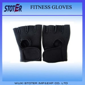2016 Best Design Gym Fingerless Gloves, Weighted Fitness Gloves, Workout Gym Gloves pictures & photos