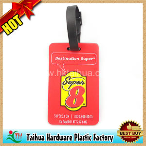 Custom Soft PVC Luggage Tag for Promotion Gifts (TH-xlp009) pictures & photos
