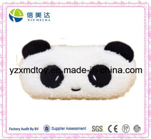 Cute Fluffy Panda Cartoon Zipper Plush Pencil Case pictures & photos
