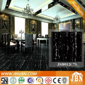Black White Porcelain Polished Glazed Marble Tile (JM8912C73) pictures & photos