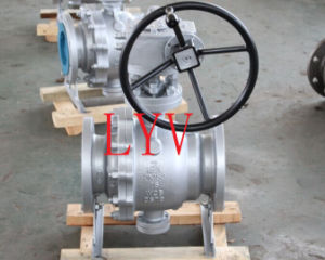 Wcb Cast Trunion Type Ball Valve