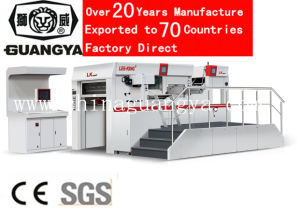 High Speed Automatic Foil Stamping and Die Cutting Machine (LK106MT, 1060*760mm) pictures & photos