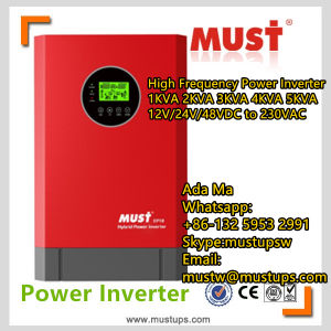 Power Inverter High Frequency 1kVA 2kVA 3kVA 4kVA 5kVA 24V 48VDC Generator pictures & photos