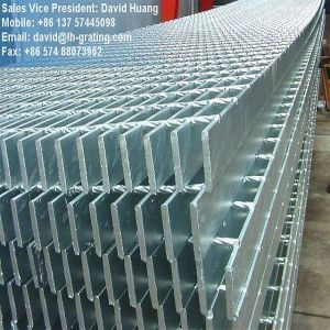 Black Steel Grating Without Any Coating for Floor and Trench Cover pictures & photos