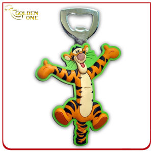 Promotion Gift Fancy Cartoon Soft PVC Bottle Opener pictures & photos