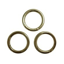 Manufacture Spring Ring Metal O Ring for Bags pictures & photos