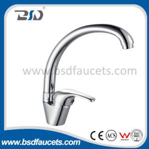 Economic Single Lever Brass Spout Sink Mixer pictures & photos