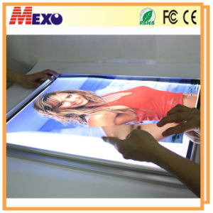 Wall Mounted Advertising Poster Aluminium LED Snap Frame pictures & photos