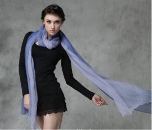 New Style Hand Painted Cashmere Wrap Elegant Lady Accessories pictures & photos
