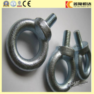 Galvanized Steel DIN580 M4-M64 Lifting Eyebolts pictures & photos