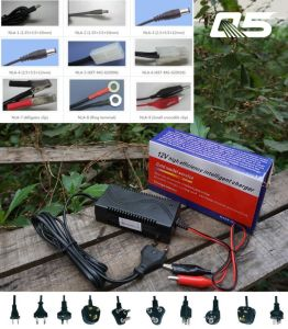 12V1A Automatic Trickle Lead acid battery Charger Storage Battery Charger pictures & photos