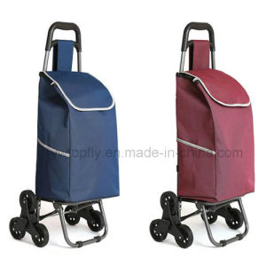 Popular Foldable Trolley Shopping Cart for Climbing Stair pictures & photos