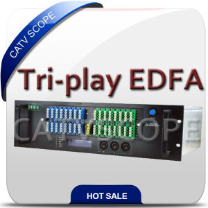 Pon EDFA for Tri-Play Network/CATV Optical Booster pictures & photos