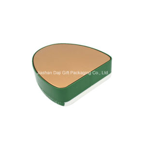 Christmas Circle Triangle Shaped Tin Box for Candy Packaging (T003-V4) pictures & photos
