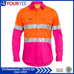Long Sleeve Safety Work Shirts Unique Design (YWS116) pictures & photos