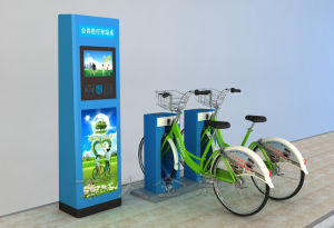 Public Bicycles-Touch Keyboard Central Control Cabinet pictures & photos