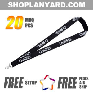 Durable Nylon Neck Lanyard for ID Card Holder