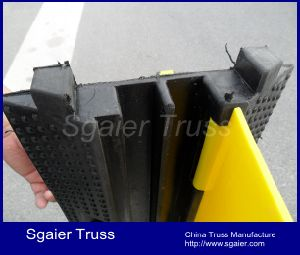 High Capacity Rubber Cord Protectors & Cable Protection Sgaier pictures & photos