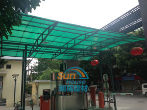 Polycarbonate Profile Roof Sheet