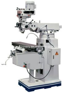 "Radial Universal Turret Milling Machine, Table 230X1067/1246mm (9""X42""/49"") pictures & photos"