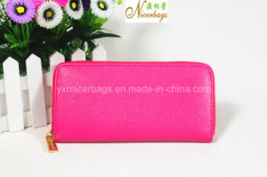 2016 Brand Quality Colorful PU Leather Ladies Wallet Women Purse pictures & photos