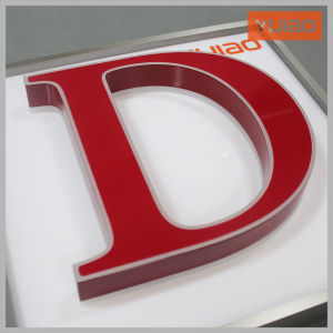 New Design Best Price Epoxy Resin LED Illuminated Letter Sign pictures & photos