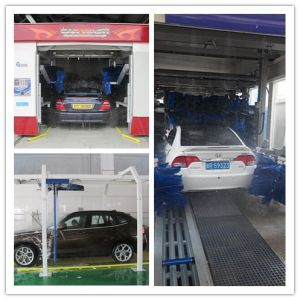 Spain Automatic Car Washer Tunnel Machine with CE pictures & photos