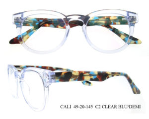 New Design Wholesale Bright Color Round Optical Frames Acetate Eyeglasses pictures & photos
