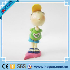 Resin Bobble Head One Cute Boy for Decoration pictures & photos