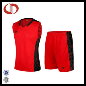 Logo Printed Quick Dry Basketball Team Uniform for Women pictures & photos