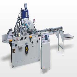 High Quality Automatic Bottom Gluing Machine (zx-100) pictures & photos