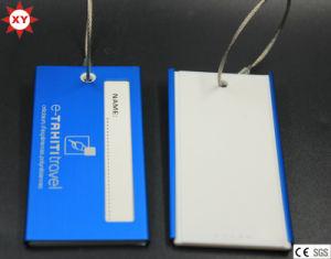 Metal Material Luggage Tag Wholesale (XYmxl112403) pictures & photos