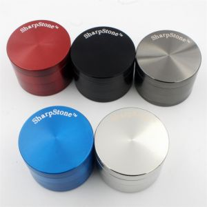 Portable High Quality Smoking Herb Zinc Grinders pictures & photos
