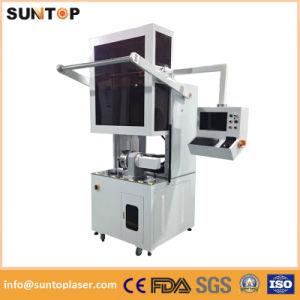 Round Metal Pipe Laser Marking Machine/Round Tube Rotating Laser Marking Machine pictures & photos