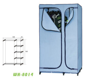 Fashio New Fabric Cloth Wardrobe (WH-8014)