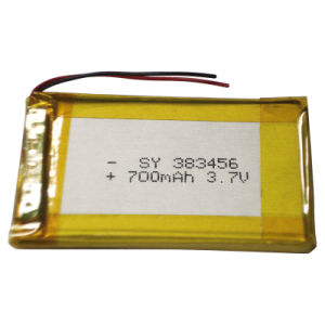 3.7V Rechargeable Li-Polymer Lithium Battery for Cordless Phone pictures & photos