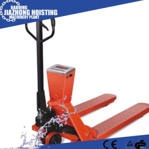 Scale Pallet Jack Manual Pallet Truck Hydraulic Pallet Truck with Scale 1500 Kg