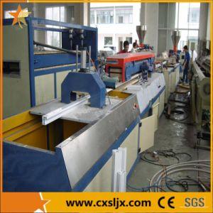 PVC Window Profiles Extrusion Production Line pictures & photos