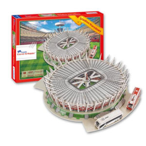 Paper Material 3D Jigsaw Games Puzzle DIY Stadium Puzzles 10219079 pictures & photos