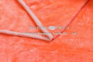 Embossed Flannel/Coral Fleece Blanket / Baby Products pictures & photos