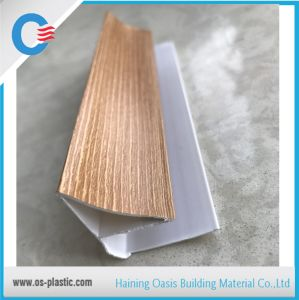 Wooden Laminated PVC Corner to Connect PVC Ceiling Panels pictures & photos