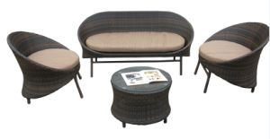 Leisure Rattan Sofa Outdoor Furniture-103 pictures & photos