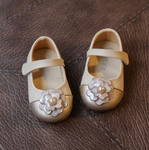 PU Leather Baby Toddler Shoes Soft Soled Anti-Slip Shoes (AKBS23) pictures & photos